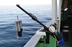 Гидрофизическая электрическая мини-лебедка